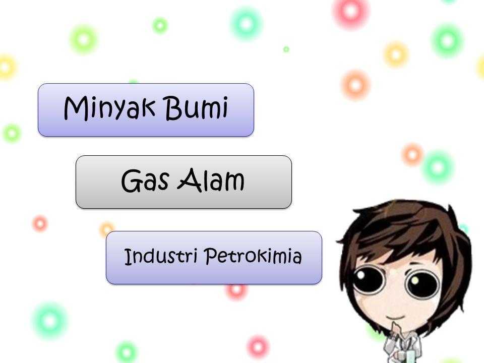 Gas Alam Minyak Bumi Industri Petrokimia