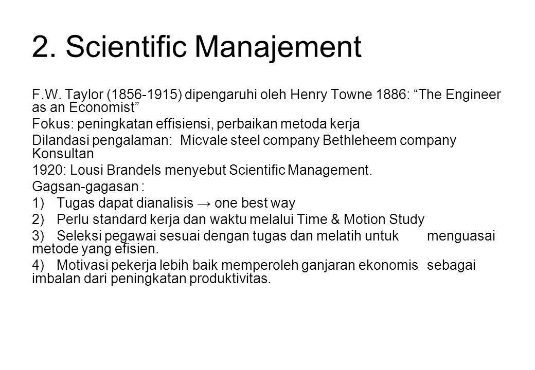 2.Scientific Manajement F.W.