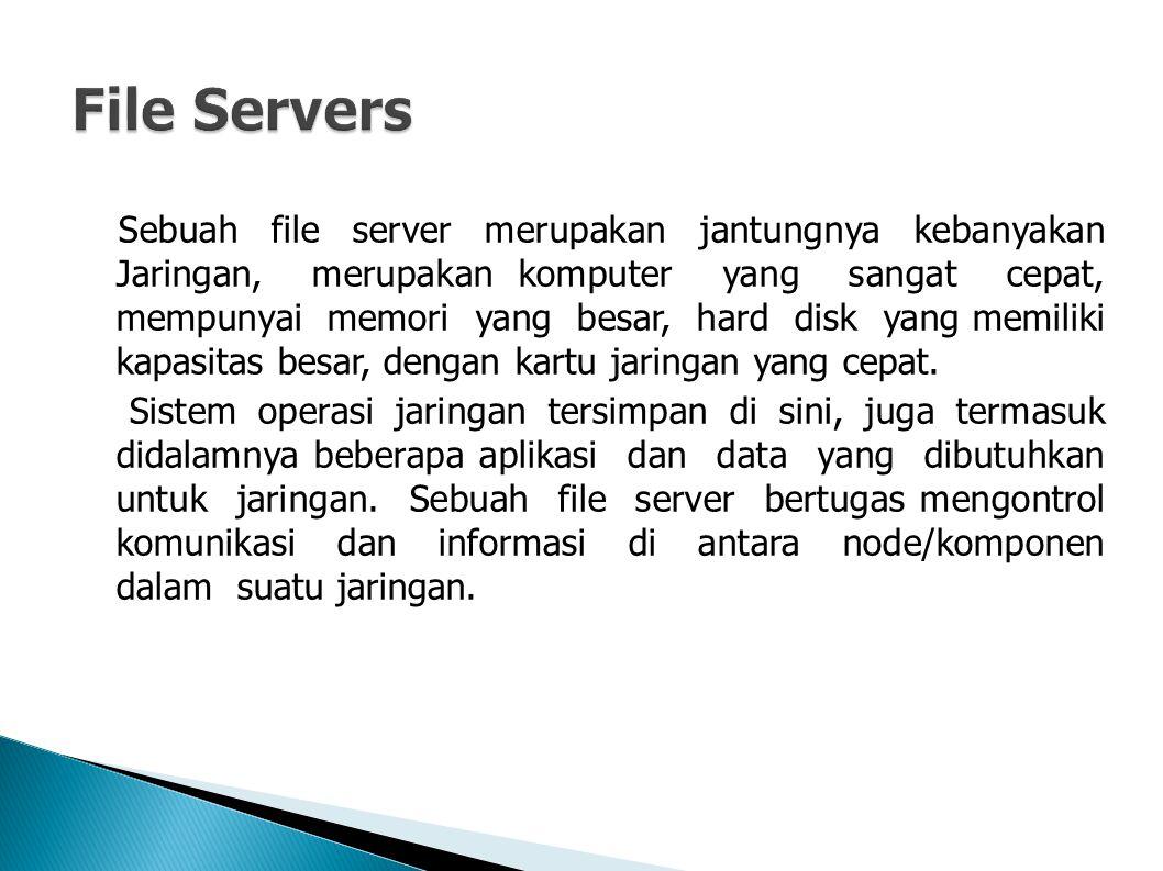  Sebagai contoh mengelola pengiriman file database atau pengolah kata dari workstation atau salah satu node, ke node yang lain, atau menerima email pada saat yang bersamaan dengan tugas yang lain.