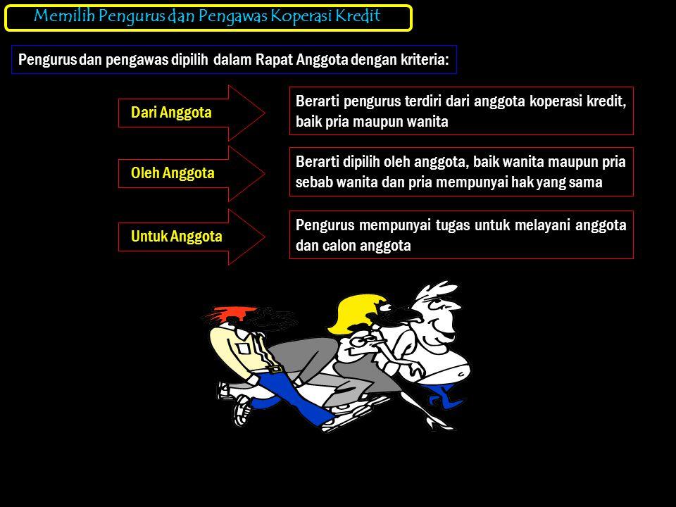 Bagan Garis Wewenang dan Tanggung Jawab Kopdit berdiri dan berjalan berdasarkan UU No.