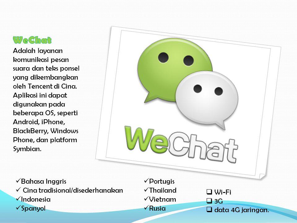 Bahasa Inggris Cina tradisional/disederhanakan Indonesia Spanyol Portugis Thailand Vietnam Rusia  Wi-Fi  3G  data 4G jaringan.