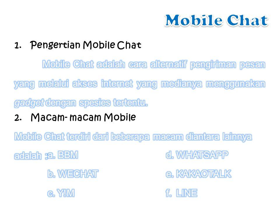 Program pengirim pesan instant yang disediakan untuk para pengguna perangkat BlackBerry.