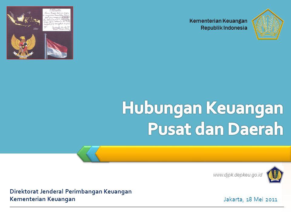 Dana ke Daerah = 710,05(63,05%) Total Belanja = 1.126,15 Belanja APBNP 2010 (Triliun Rupiah) Belanja APBNP 2010 (Triliun Rupiah) Sumber : APBNP2010 12