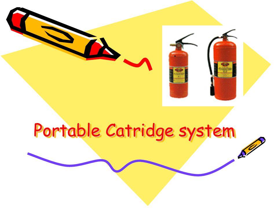 Portable Catridge system