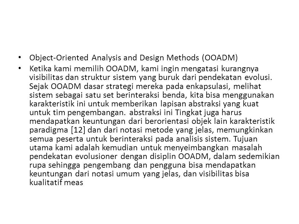 dan visibilitas bisa kualitatif measured1 dengan diagram analisis dan desain.