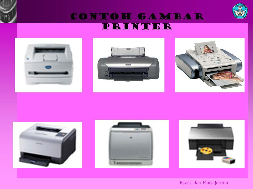 CONTOH GAMBAR PRINTER Bisnis dan Manajemen