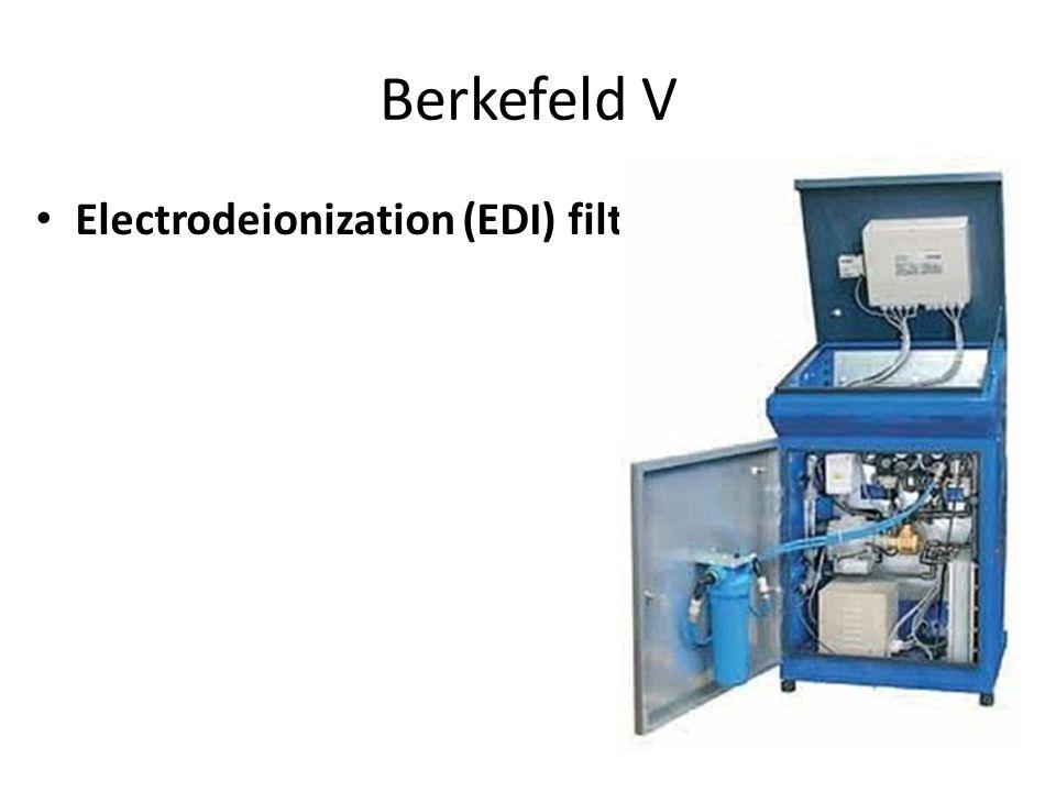 Berkefeld V Electrodeionization (EDI) filter