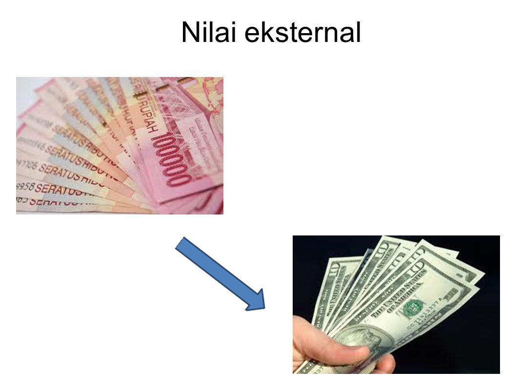 Nilai eksternal