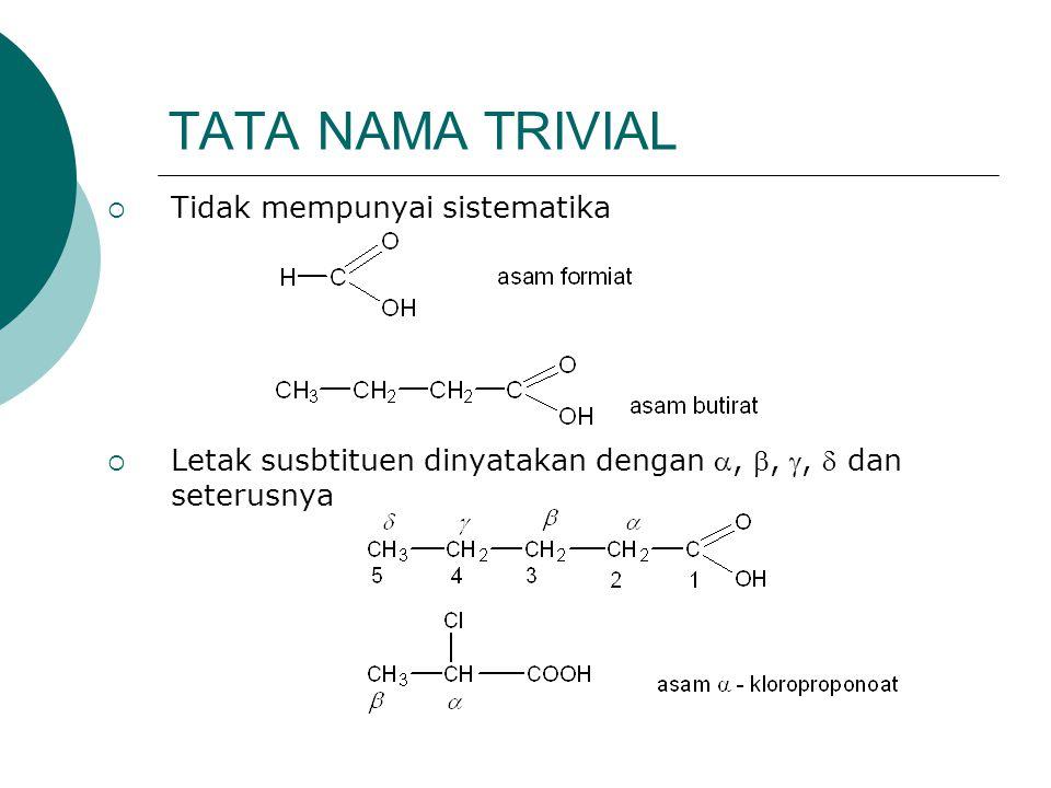 Formula/strukturIUPACTrivial HCO 2 HAs.