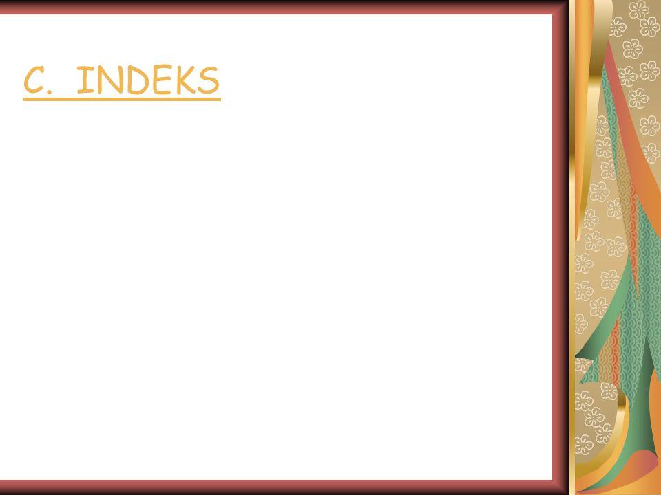 C. INDEKS