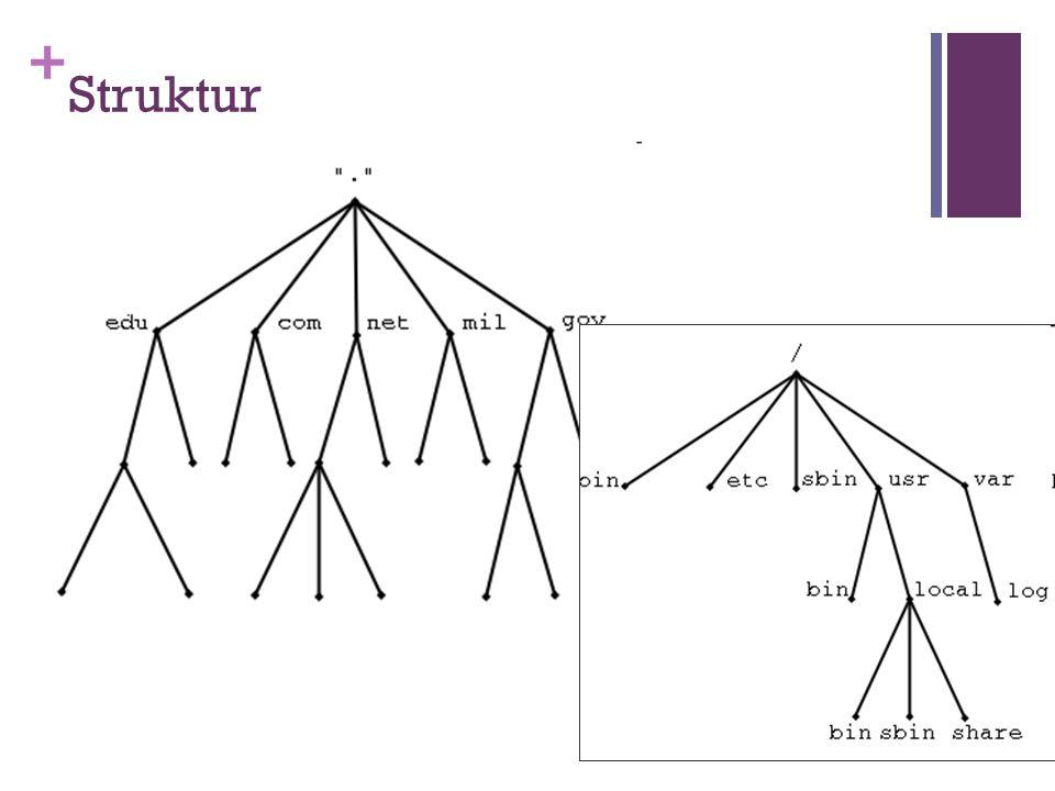 + Struktur