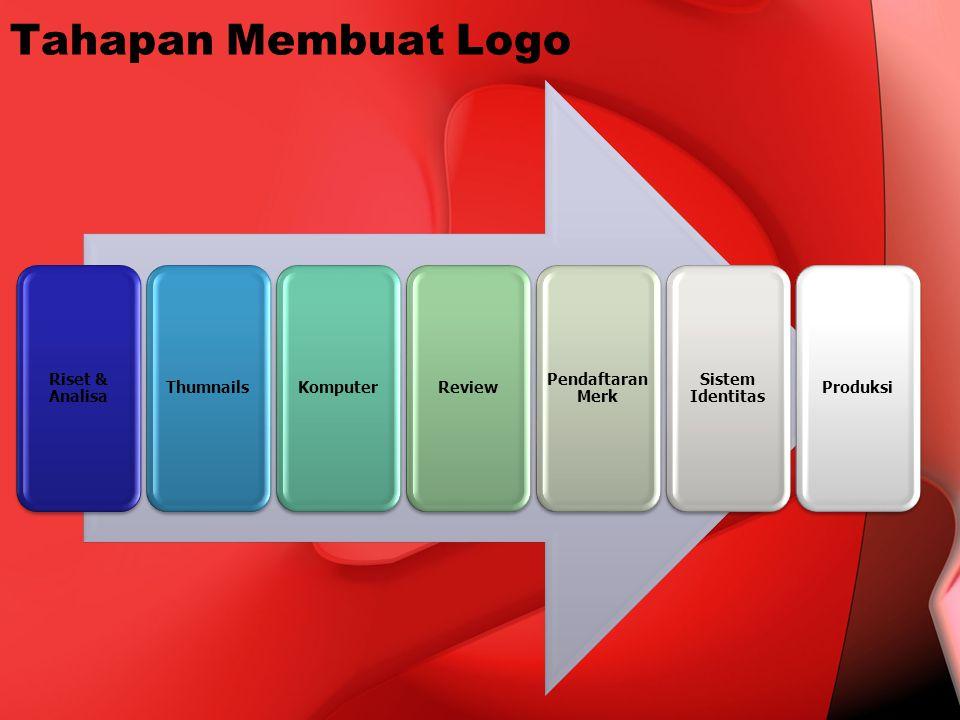 Tahapan Membuat Logo Riset & Analisa ThumnailsKomputerReview Pendaftaran Merk Sistem Identitas Produksi