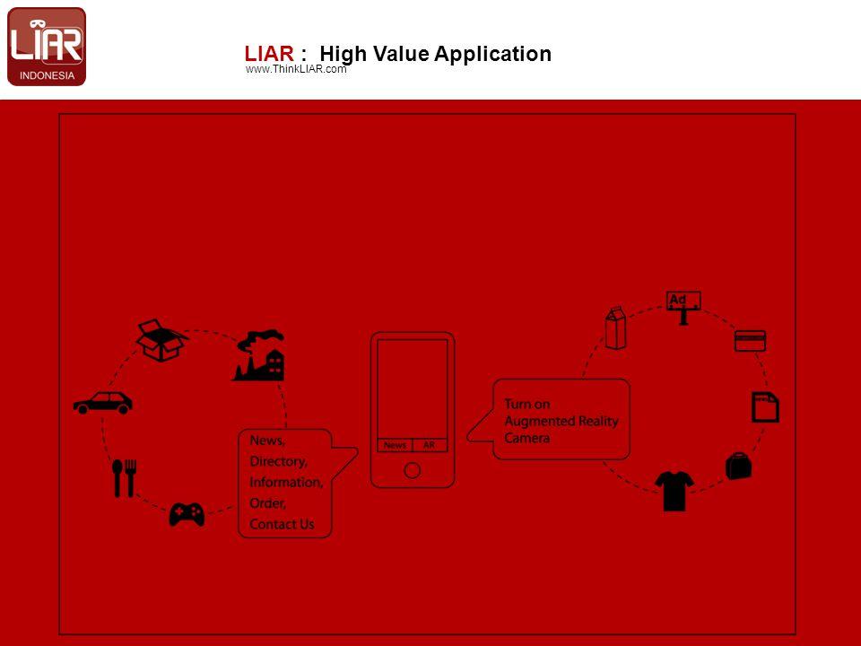LIAR : High Value Application www.ThinkLIAR.com