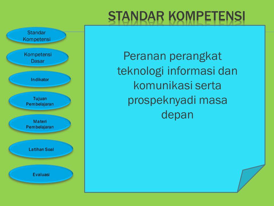 Standar kompetensi 1 Kompetensi dasar 1.1 Kelas 7 semester 1