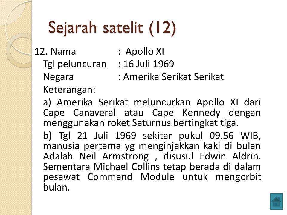 Sejarah satelit (12) 12.