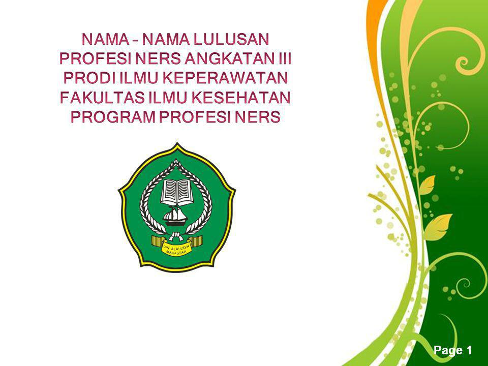 Free Powerpoint Templates Page 31 Nama: Ns.