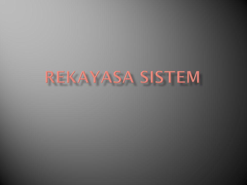 aktivitas untuk menetapkan kebutuhan- kebutuhan pada tingkat sistem, kemudian mengalokasikan beberapa bagian dari kebutuhan-kebutuhan tersebut ke satu atau beberapa komponen rekayasa, misalnya perangkat lunak.