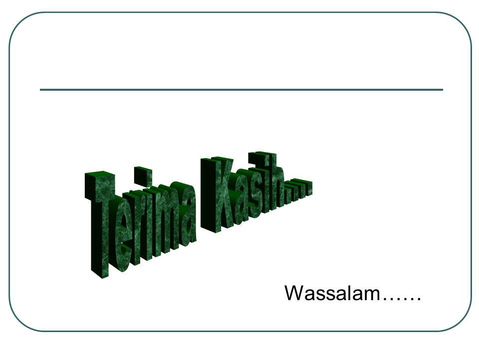 Wassalam……