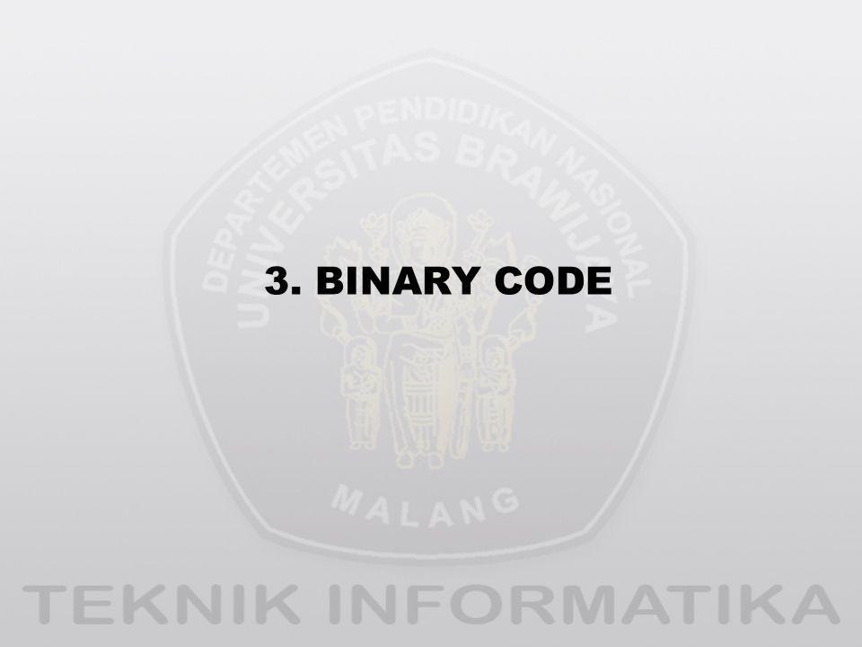 3. BINARY CODE