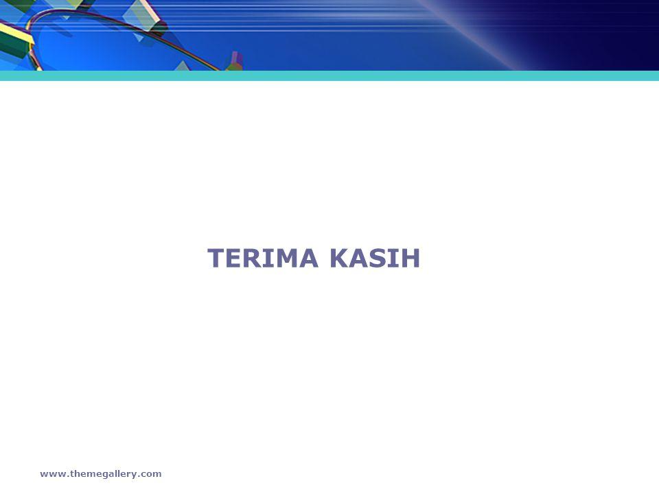 TERIMA KASIH www.themegallery.com
