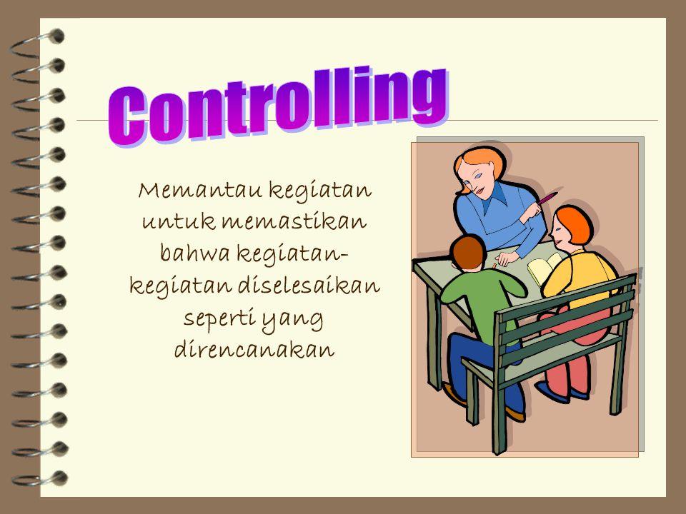 Meliputi kegiatan memotivasi bawahan, mengarahkan, menyeleksi saluran komunikasi yang paling efektif dan memecahkan konflik