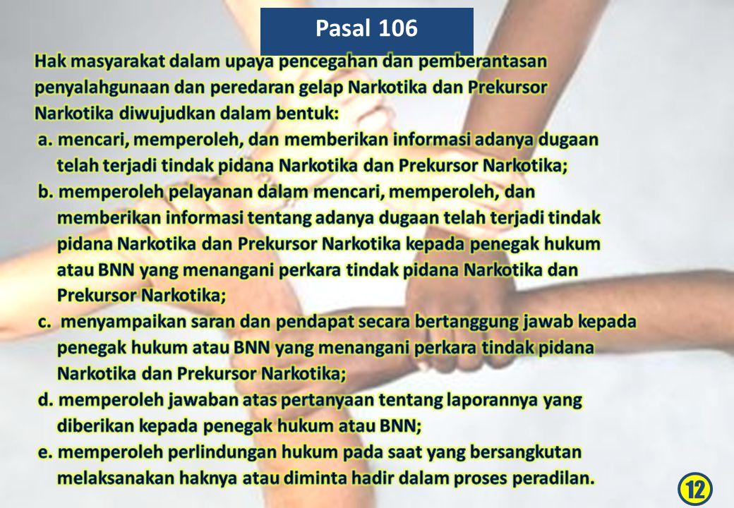 Pasal 106 12