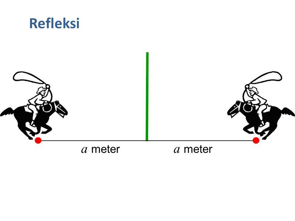 Quiz6: Tentukan bayangan garis 4x + 6y = 9 jika garis tersebut dirotasikan sebesar 90 o berlawanan arah jarum jam dengan pusat rotasi di O(0,0) .
