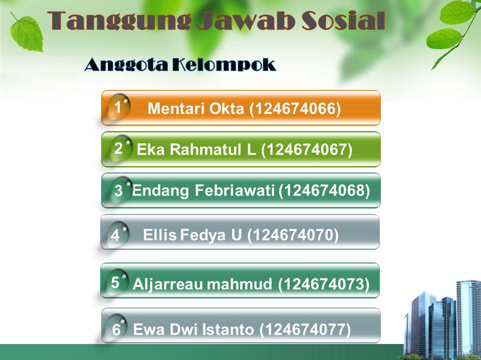 Mentari Okta (124674066) Eka Rahmatul L (124674067) Endang Febriawati (124674068) Ellis Fedya U (124674070) 4 1 2 3 Click to add title in hereEwa Dwi Istanto (124674077) 6 Aljarreau mahmud (124674073) 5
