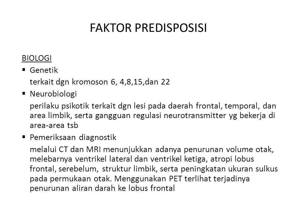 PSIKOFARMAKA  Atipikal antipsikotik - Clozapine (Clozaril) - Risperidone (Risperidal) - Olanzapine (Zyprexa) - Quetiapine (Seroquel) - Ziprasidone (Geodon) - Aripiprazole (abilify)  Tipikal antipsikotik - Thiothixene (Navane) - Haloperidol (Haldol) - Loxapine (Loxatine) - Molindone (Moban) - Pimozide (Orap)