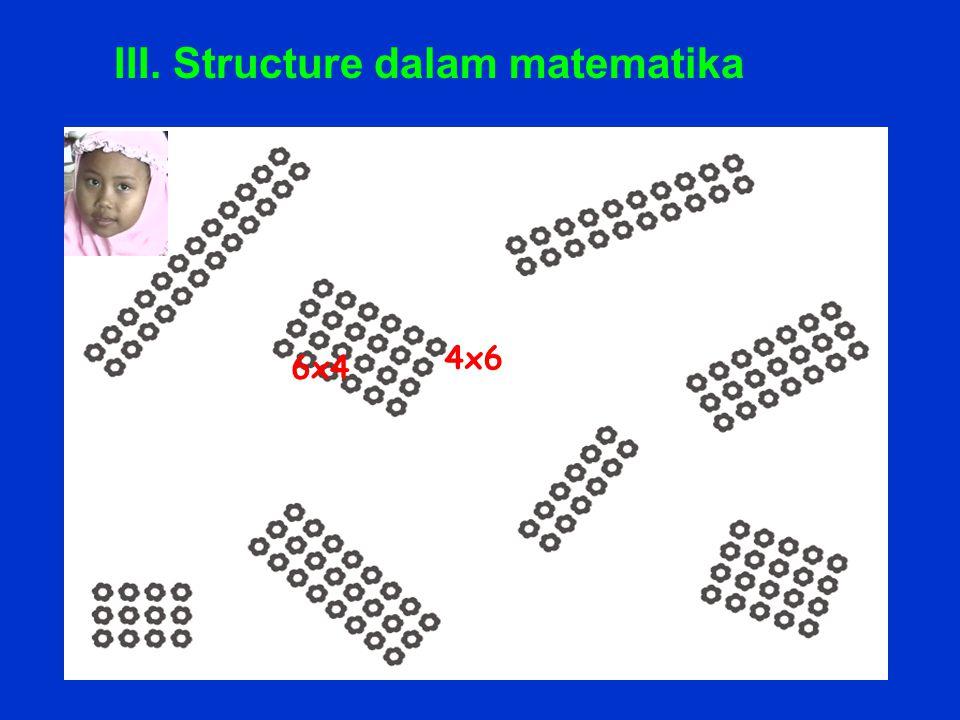6x4 4x6 III. Structure dalam matematika