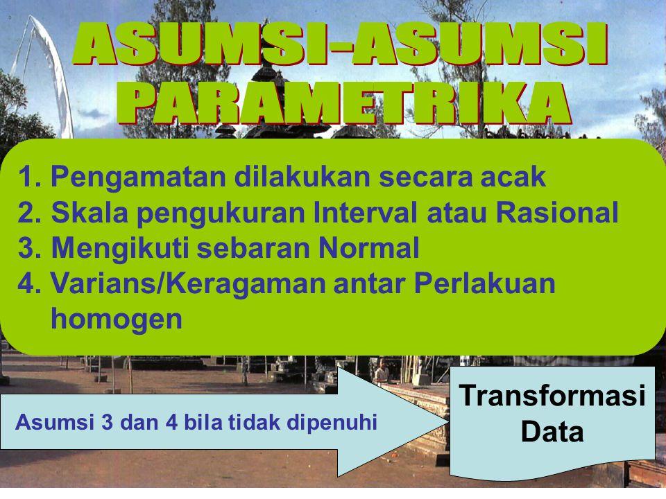 POISSON BINOMIAL GEOMETRIK Rataan≡Ragam Rataan≈Ragam