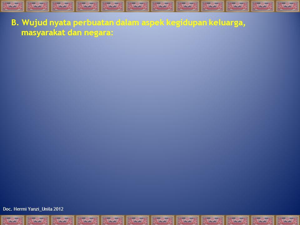 Doc. Hermi Yanzi_Unila 2012 2. Kebebasan dan tanggung jawab A. Pemahaman Konsep