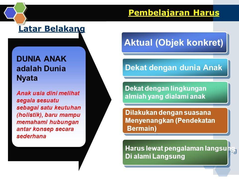 www.themegallery.com Contoh: Rencana Kerja Mingguan (RKM) Model Pembelajaran Berdasarkan Minat