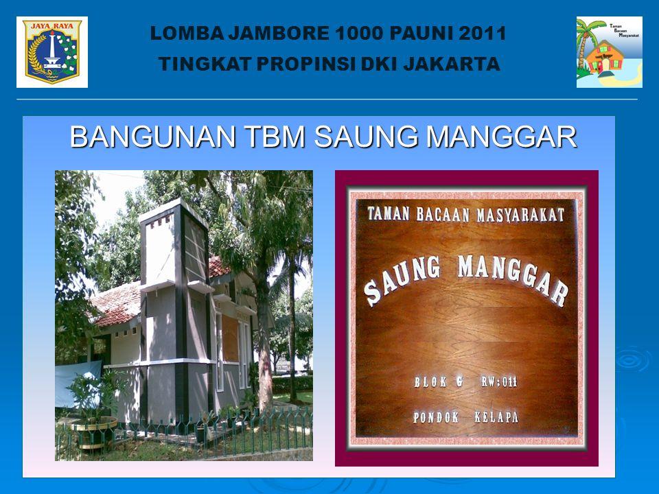 LOMBA JAMBORE 1000 PAUDNI 2011 TINGKAT PROPINSI DKI JAKARTA DISTRIBUSI TBM NEWS 1.
