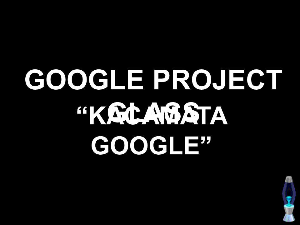 Google memperkenalkan kacamata canggih nan futuristik.