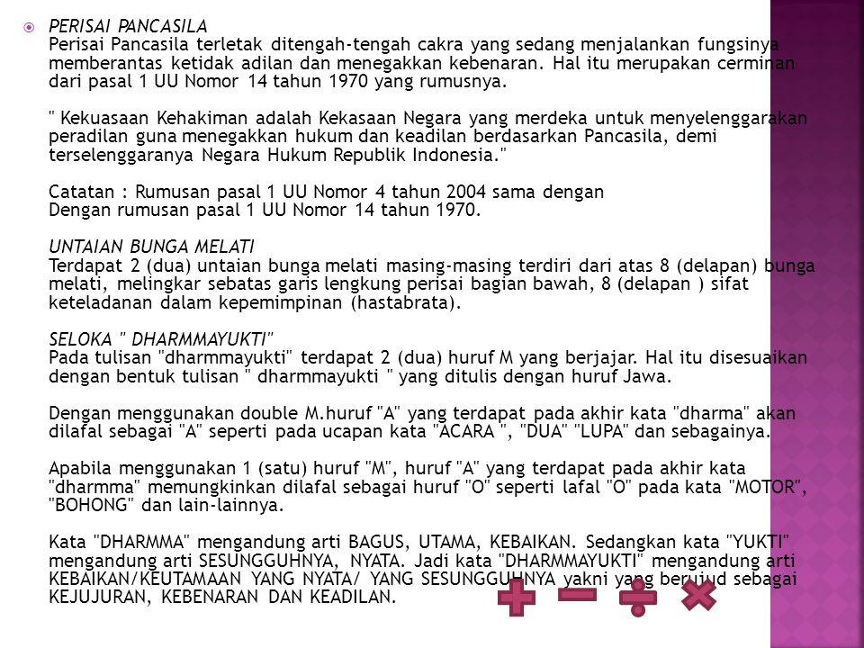  Sejarah berdirinya Mahkamah Agung RI tidak dapat dilepaskan dari masa penjajahan atau sejarah penjajahan di bumi Indonesia ini.
