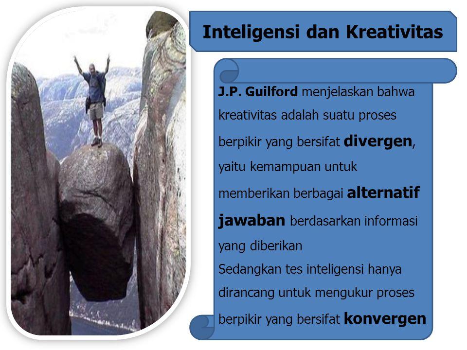 Inteligensi dan Kreativitas J.P.