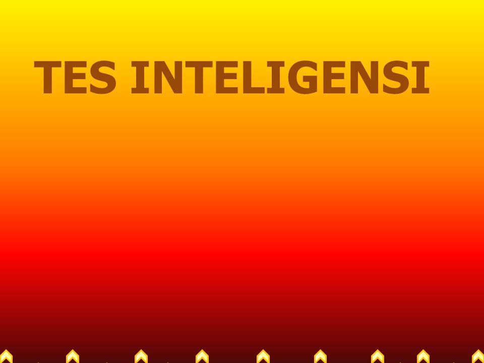 Inteligensi dan IQ Intelligence Quotient, merupakan angka yang diperoleh dari sebuah alat tes kecerdasan.