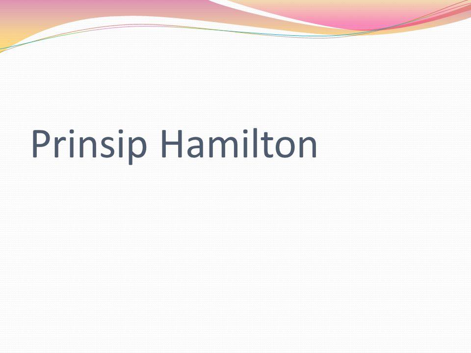 Prinsip Hamilton