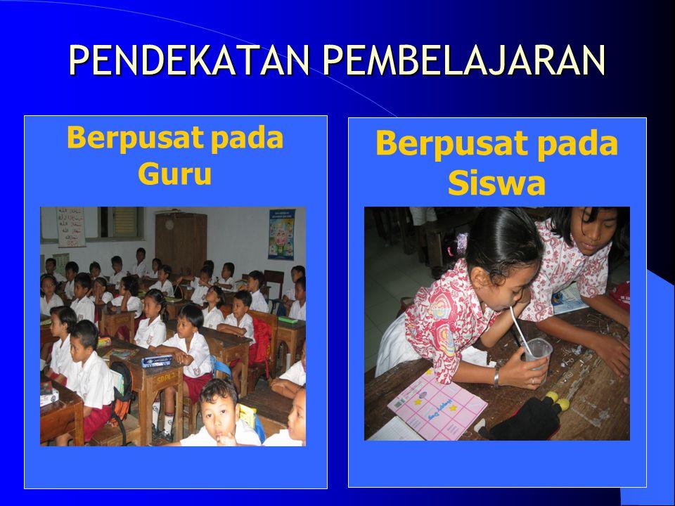 Dalam Pembelajaran PAKEM siswa: