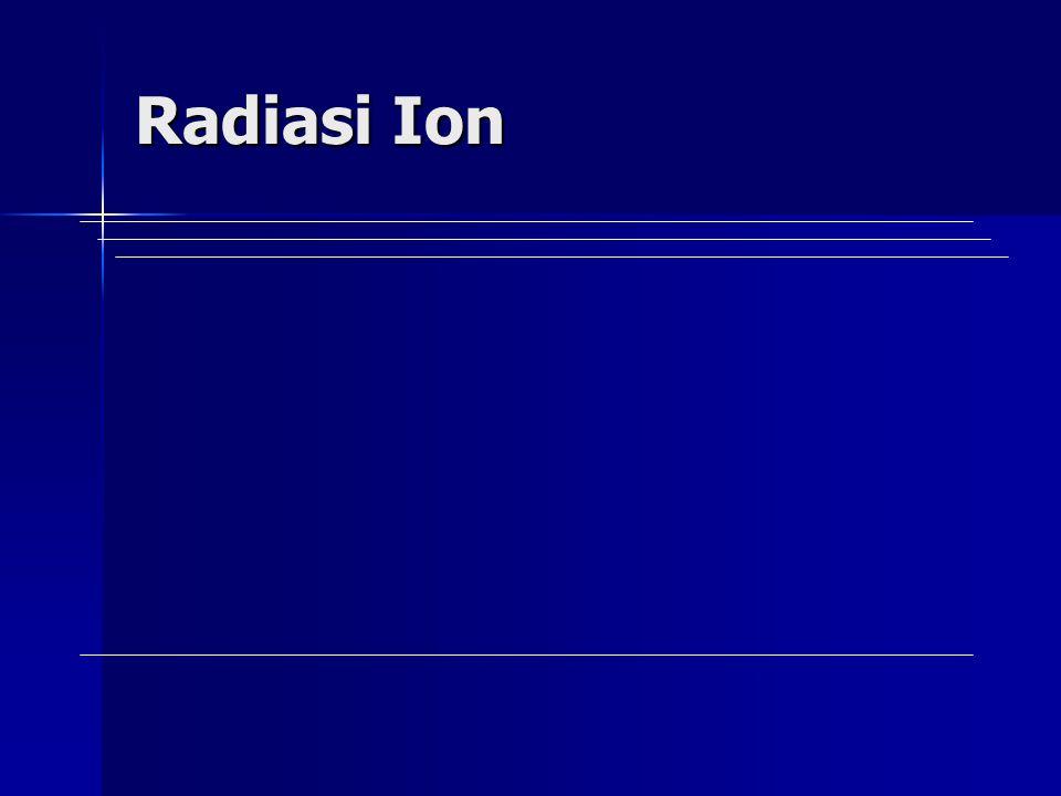 Radiasi Ion