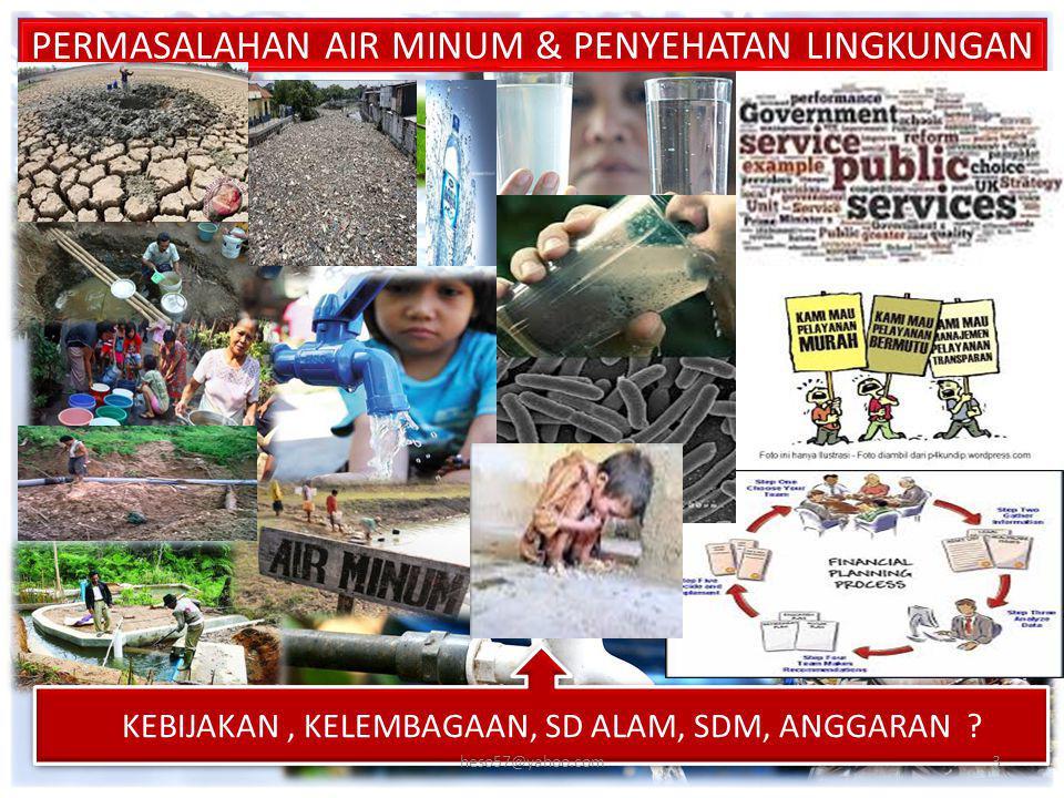 KEMENTERIAN DALAM NEGERI REPUBLIK INDONESIA KONDISI EKSITING PELAYANAN AMPL (3) KAB/KOTA PESERTA PAMSIMAS YANG TELAH MENGESAHKAN RAD AMPL NoKab/KotaNoKab/KotaNoKab/Kota PROV SUMATERA BARAT12.