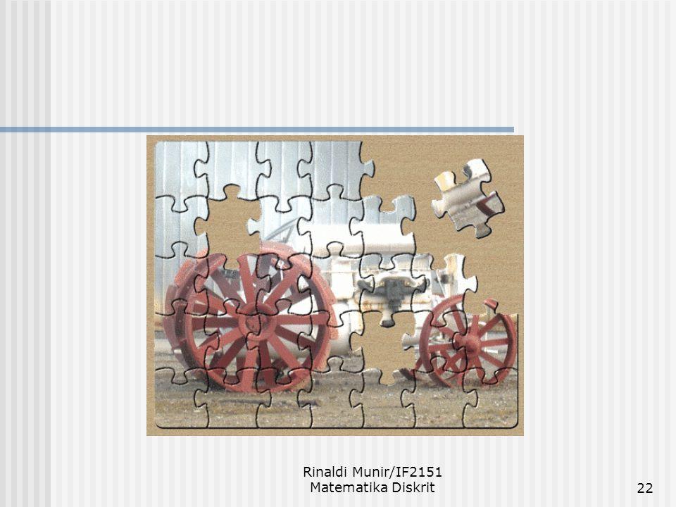Rinaldi Munir/IF2151 Matematika Diskrit22