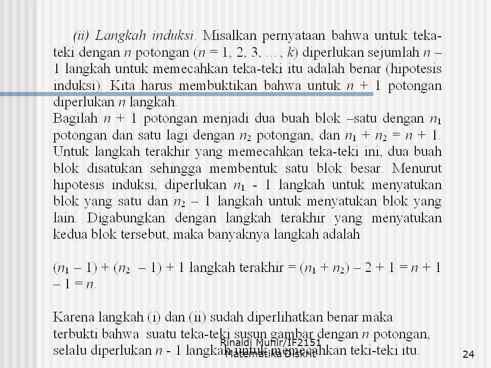 Rinaldi Munir/IF2151 Matematika Diskrit24