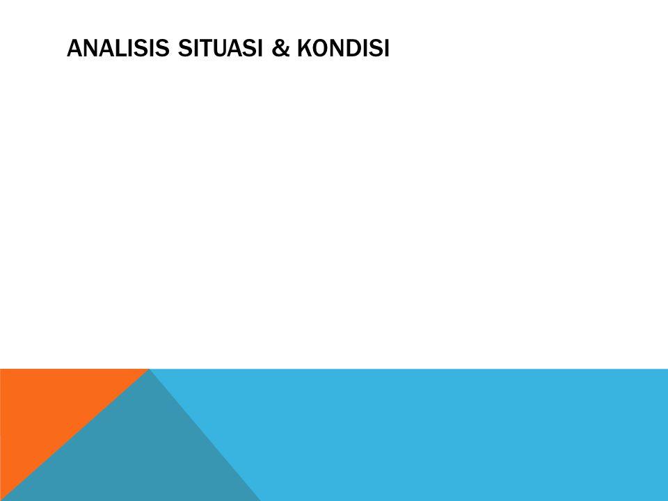 ANALISIS SITUASI & KONDISI