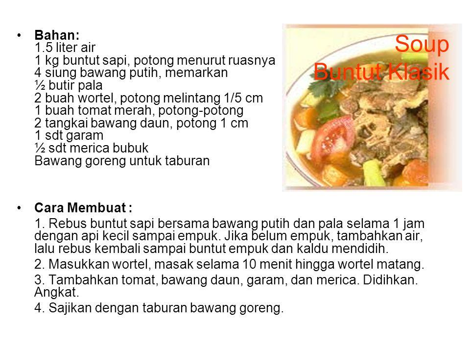 Bandeng Bumbu Bali Bahan: 1 kg ikan bandeng 1 sdt garam 1 bh jeruk nipis, ambil airnya 4 bh bawang merah 2 siung bawang putih 2 ruas jahe 200 gr cabai merah, buang biji 1 sdm kecap manis 1/2 sdt garam minyak goreng Cara membuat: 1.