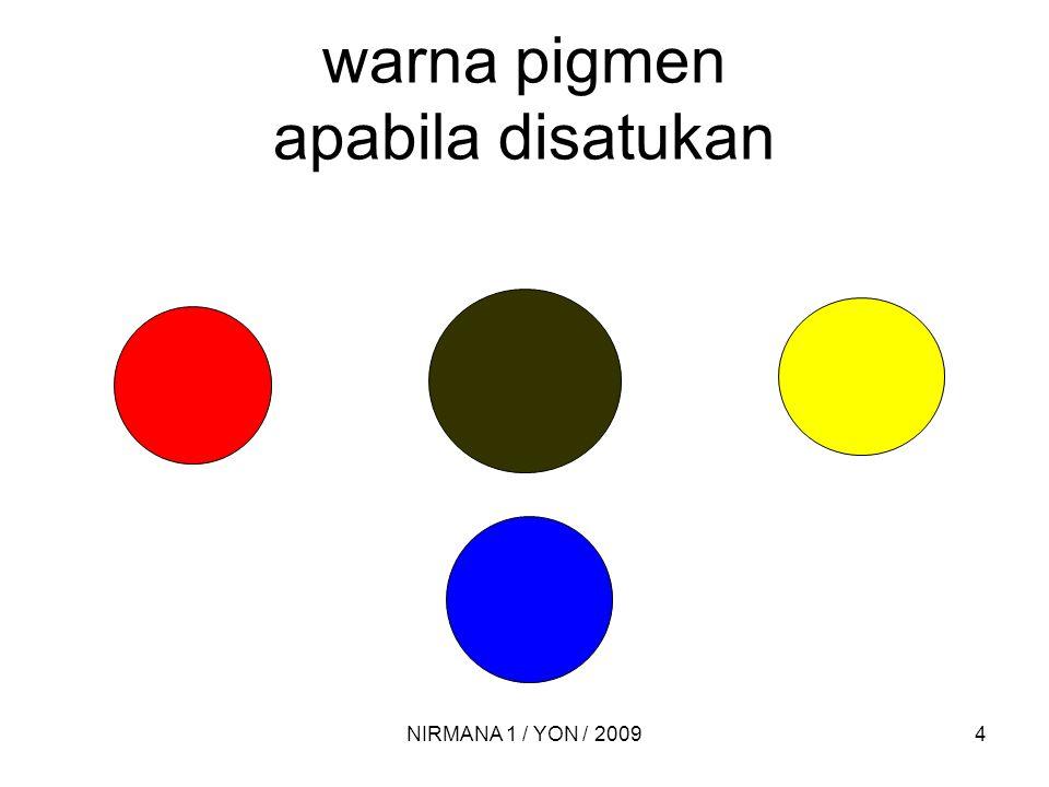Warna cahaya - 3