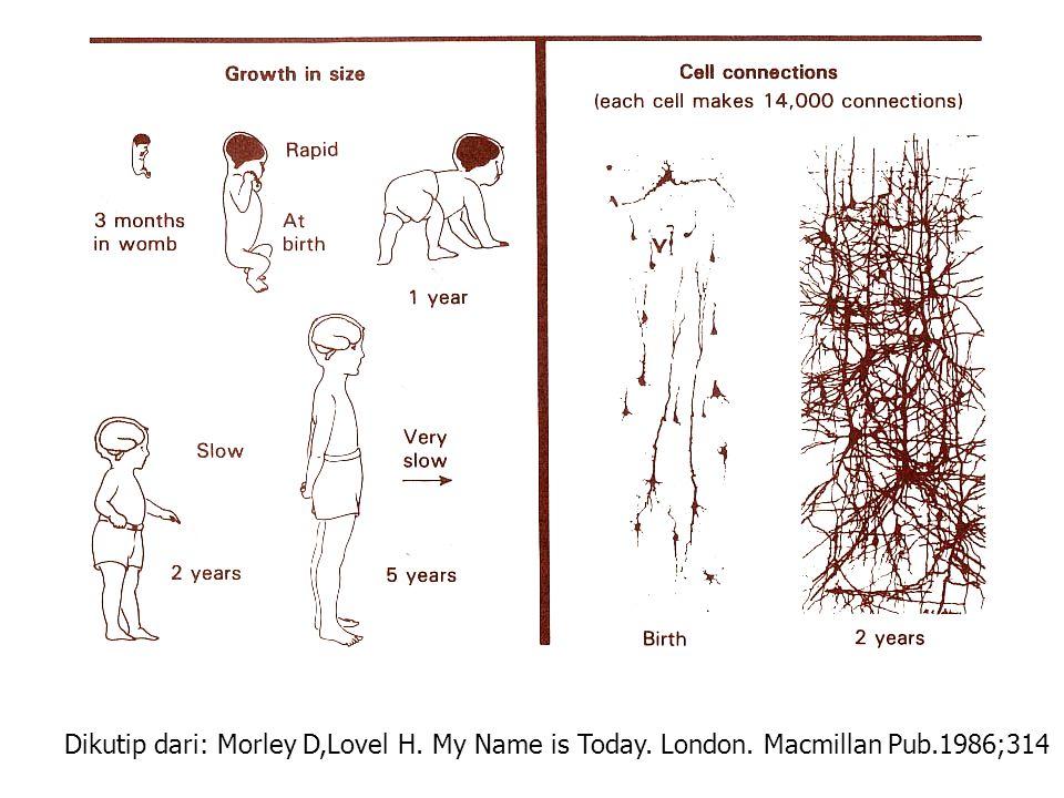 Dikutip dari: Morley D,Lovel H. My Name is Today. London. Macmillan Pub.1986;314