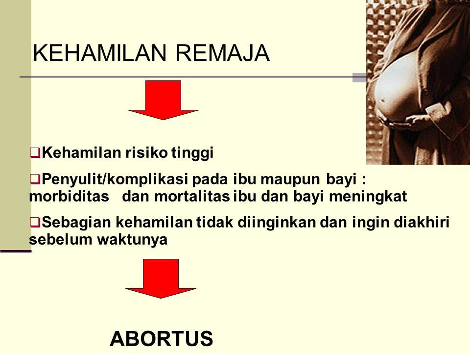  Kehamilan risiko tinggi  Penyulit/komplikasi pada ibu maupun bayi : morbiditas dan mortalitas ibu dan bayi meningkat  Sebagian kehamilan tidak dii