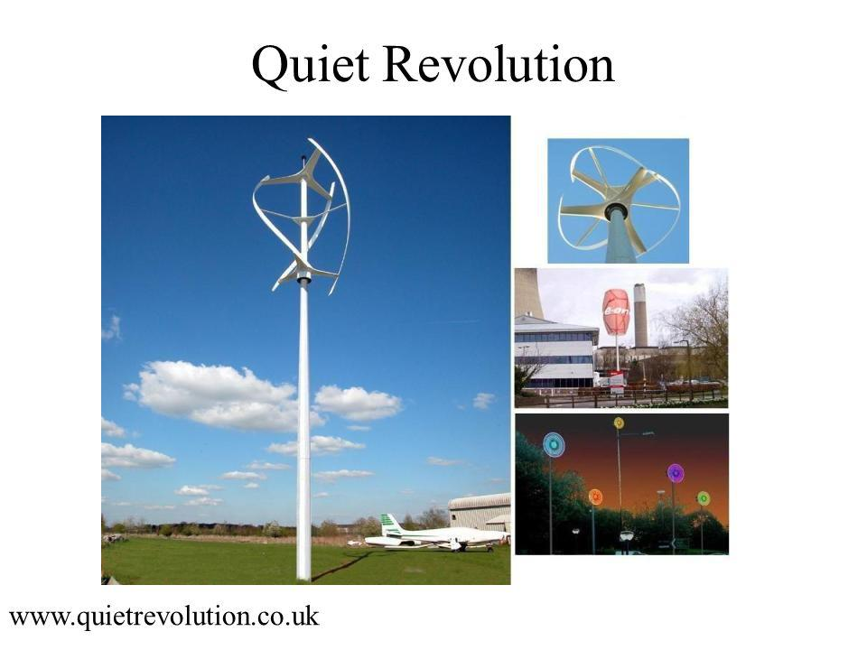Quiet Revolution www.quietrevolution.co.uk